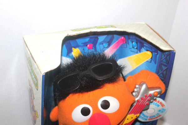 NWT Rock and Roll Ernie, Sesame Street, Vintage Toys, Antique Alchemy