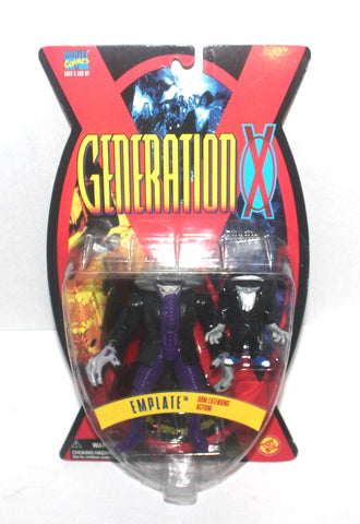1995 X-Men: Generation X, Emplate Action Figure, Marvel Comics, 1995 Toy Biz, Antique Alchemy