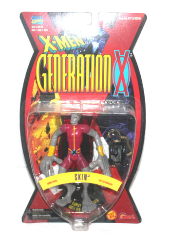 1996 X-Men: Generation X, Skin Action Figure, Marvel Comics, 1996 Toy Biz, Antique Alchemy