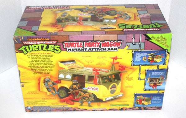 NOS, TMNT Retro Turtle Party Wagon, 90s 80s Movies, Antique Alchemy
