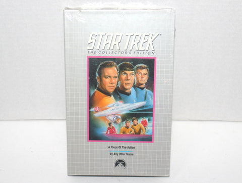1968 Star Trek Collectors Edition: Piece of the Action & By Any Other Name VHS Antique Alchemy