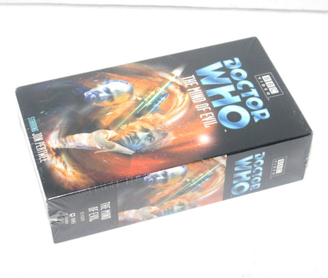 1971 BBC Doctor Who - The Mind of Evil [VHS] New Sealed Antique Alchemy