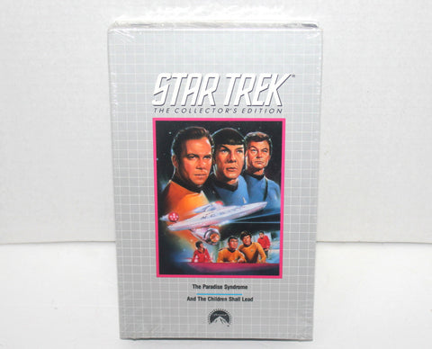 1968 Star Trek Collectors Edition : ( The Paradise Syndrome & And the Children Shall Lead) VHS Antique Alchemy
