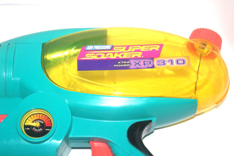 1990s Larami Super Soaker XP310, Water Gun, Summer Fun Game, Vintage Toys, Antique Alchemy