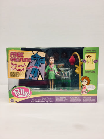 2004 Polly Pocket Theatre Doll Playset