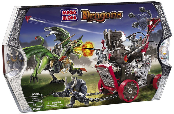 Dragons: Siege Chariot by Mega Brands, Antique Alchemy