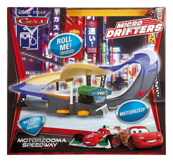 Cars Micro Drifters Super Speedway Playset, Antique Alchemy
