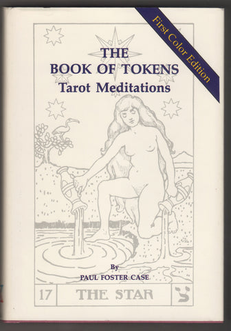 The Book of Tokens, Tarot Meditations Book, First Color Edition, Written By Paul Foster Case,  Antique Alchemy