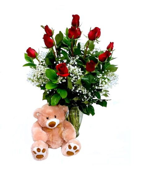 ROSES AND BEAR HUGS