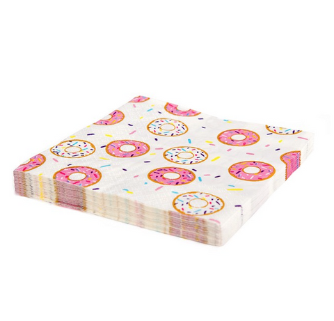 Donut Paper Napkins (pack of 20)