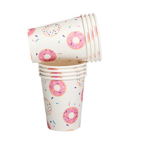 Donut Paper Cups (set of 10)