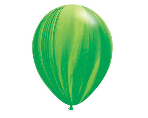 Green Marble Balloon 28cm, Pack of 5