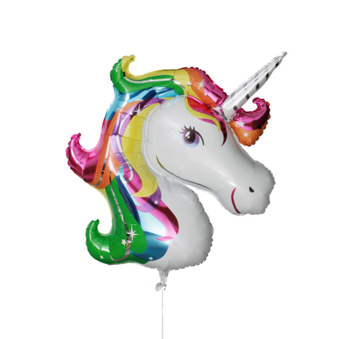 Jumbo Rainbow Unicorn Foil Shape Balloon 83cm