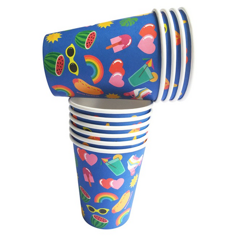 Kitiya Palaskas Paper Party Cups (Set of 10)