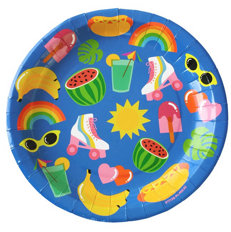 Kitiya Palaskas Party Plates (Set of 10)