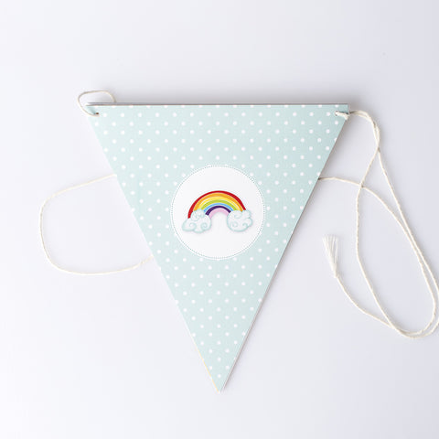 Rainbow Party Bunting