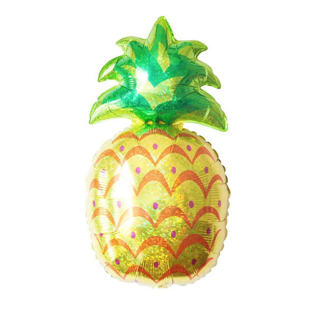 Jumbo Pineapple Foil Balloon 93cm