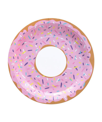 Donut Paper Plates (set of 10)