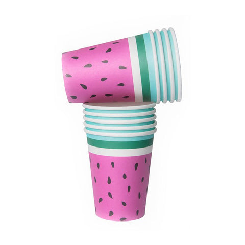 Watermelon Party Paper Cups Pack of 10