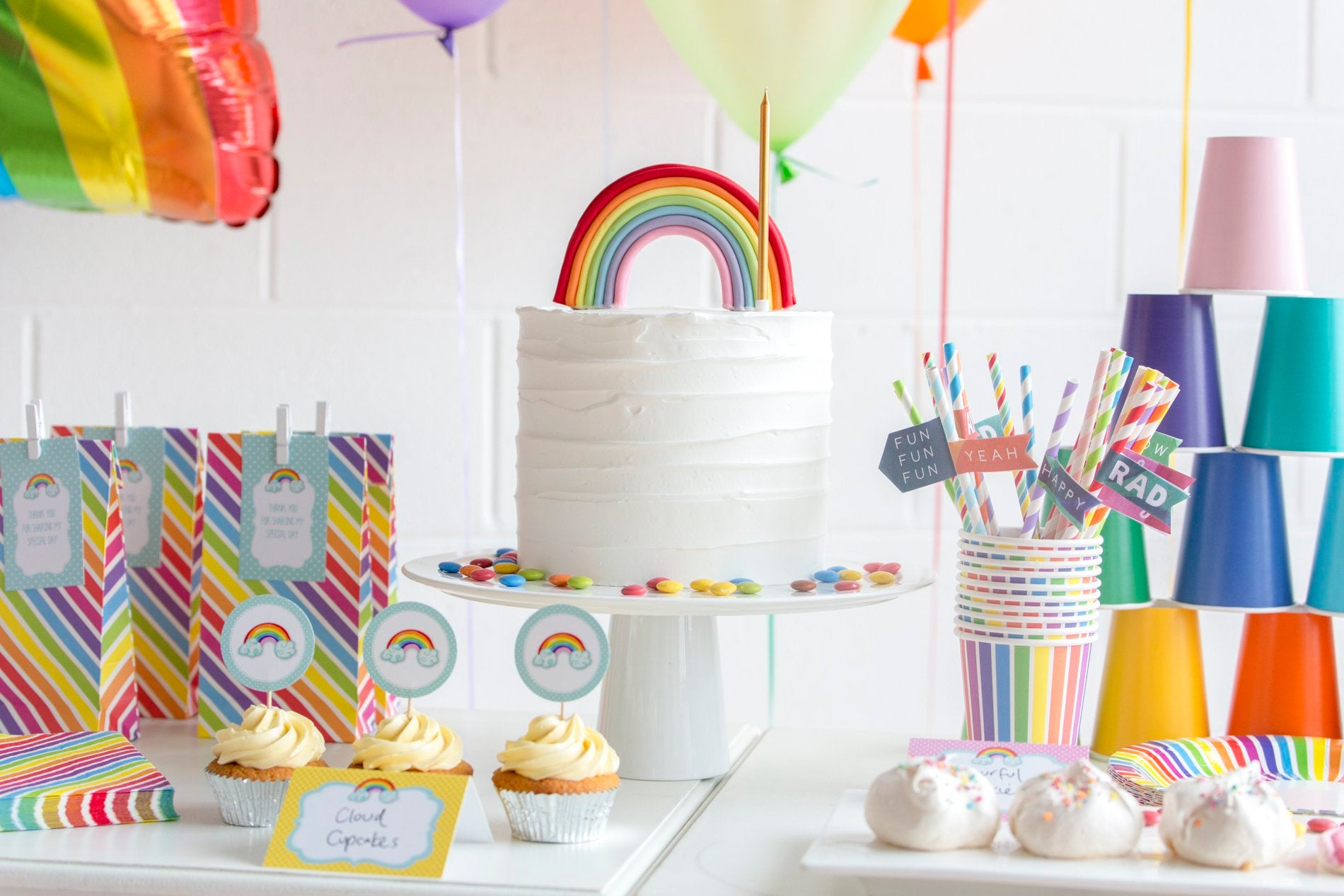 Rainbow Party Kit