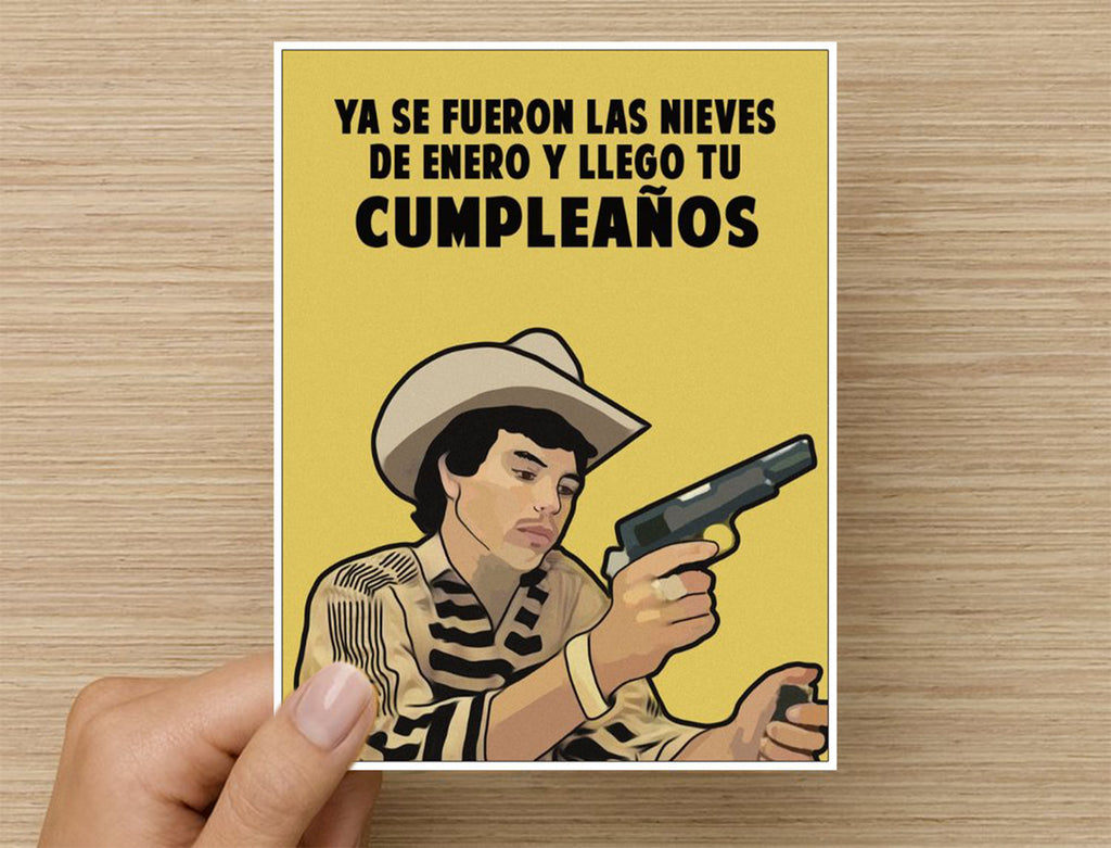 CHALINO BIRTHDAY CARD
