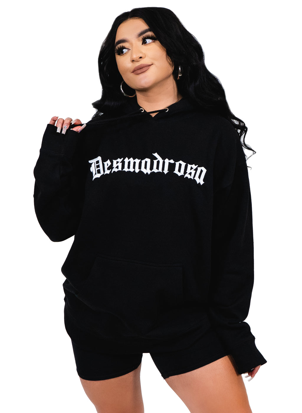 EMBROIDERED DESMADROSA HOODIE