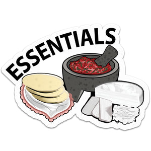 ESSENTIALS STICKER