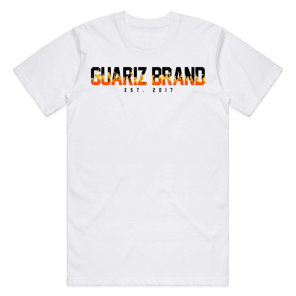 GUARIZ FLAMES MEN T-SHIRT