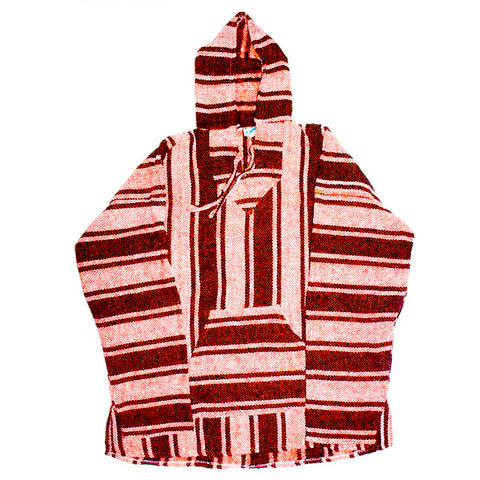 MUERTA Hoodies BURGANDY/WHITE