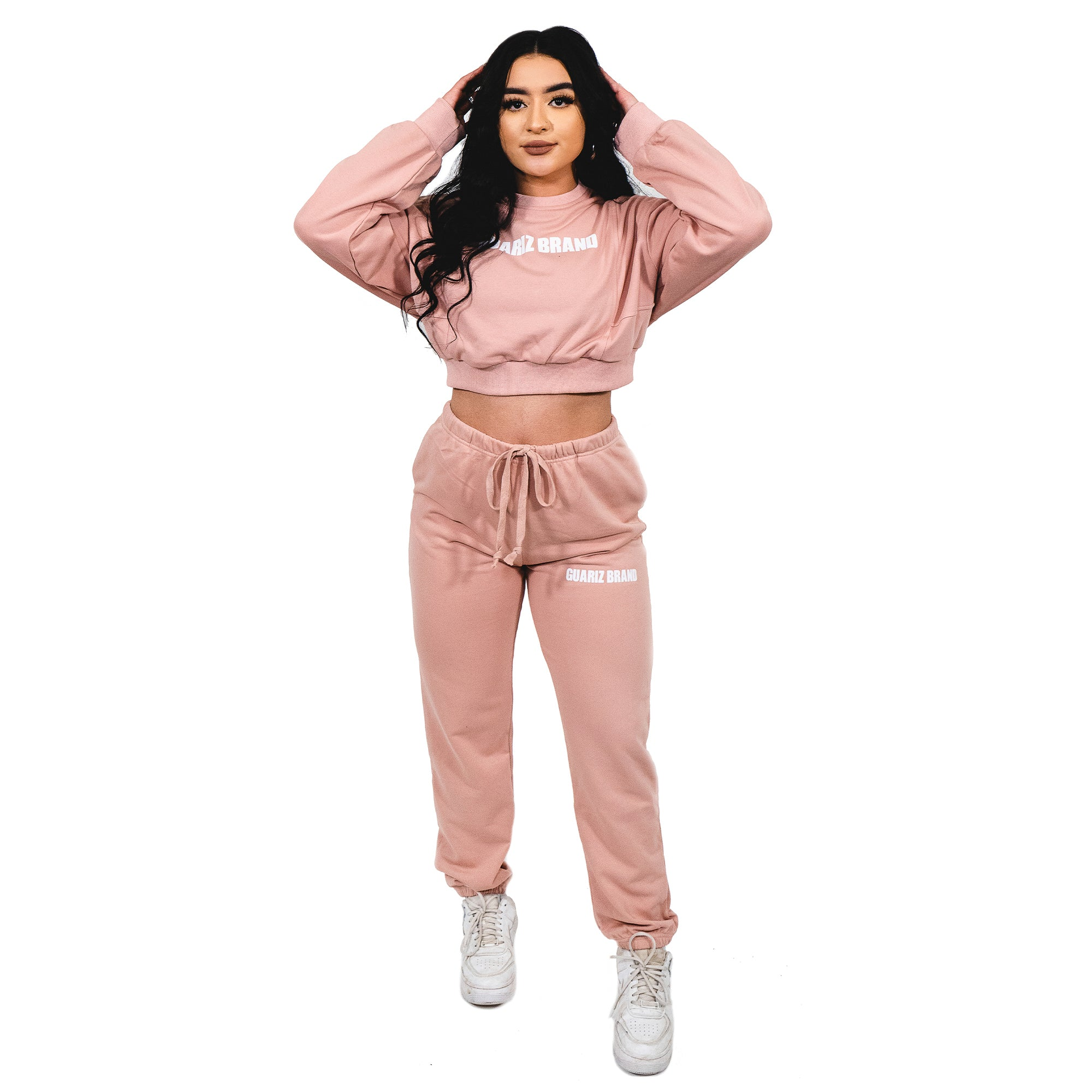 GUARIZ ESSENTIALS PEACH PINK TOP