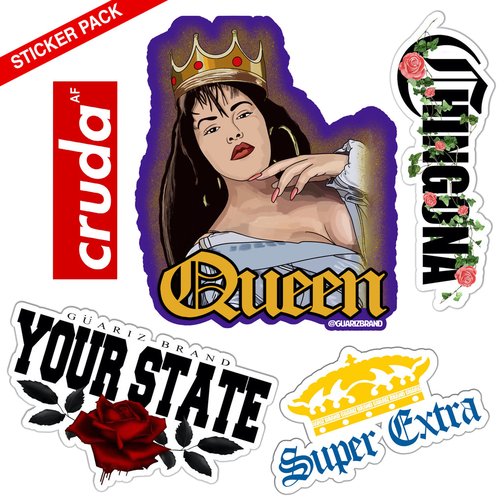 $10 BE CHINGONA PEGA-STICKER Pack (5 PACK)
