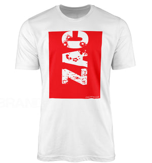 ZACATECAS ZAC RED- T-SHIRT