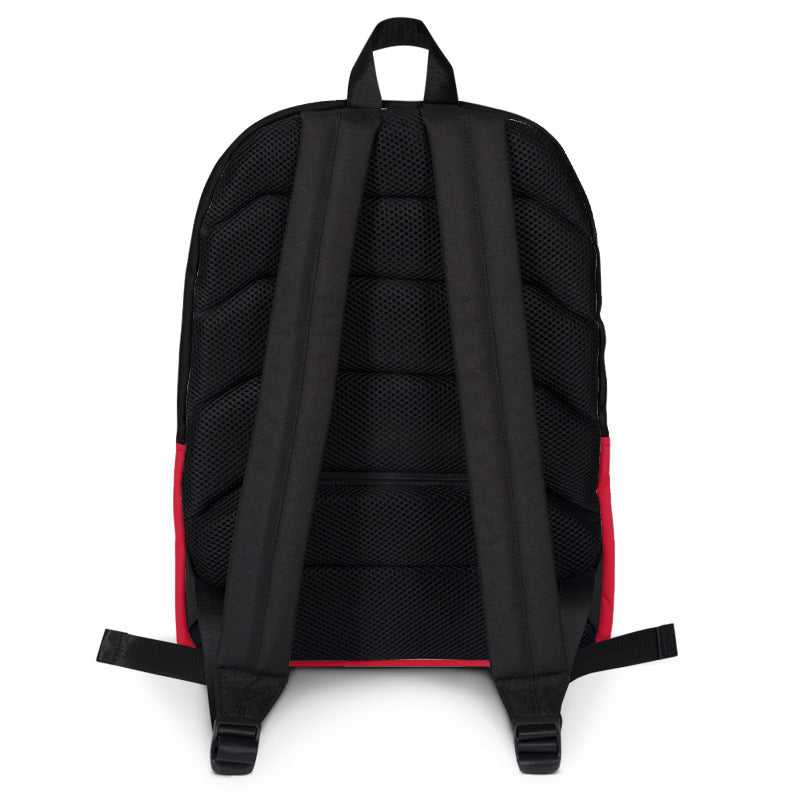 GUARIZ BRAND RED BACKPACK GB01