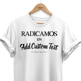 RADICAMOS CUSTOM (add any Text)