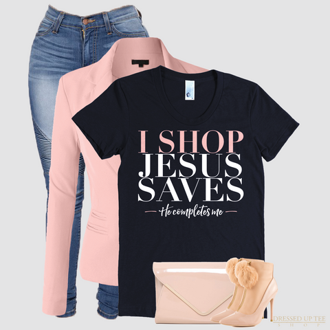 I Shop Jesus Saves