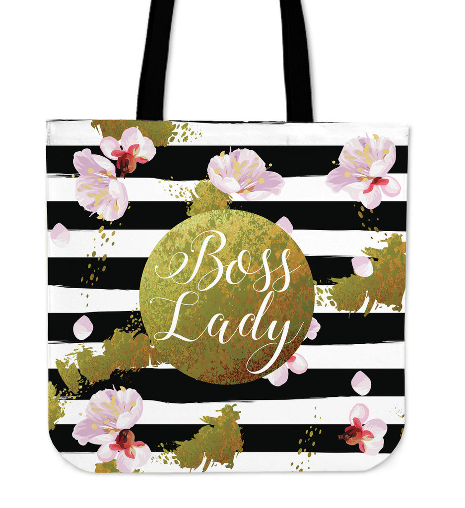 Boss Lady Premium Linen Tote Bag