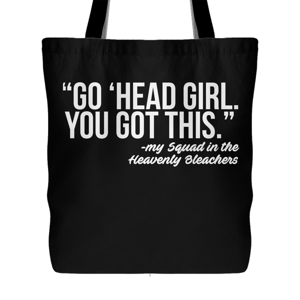 Go 'Head Girl You Got This Heb 12:1 Canvas Tote Bag