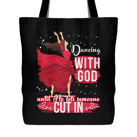 Dancing With God Canvas Tote Bag