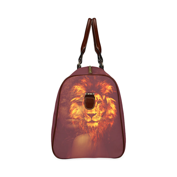 God Is Within Her She Will Not Fall Waterproof Duffel Bag