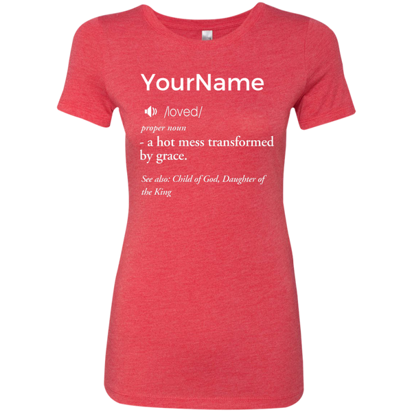 Definition Tee (Customize with your name)