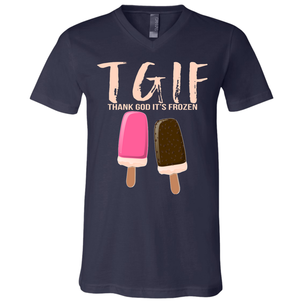 Thank God It's Frozen Unisex Tee & V-neck