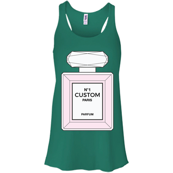 Chanel Parfum Bottle Tank (Customize with your name)