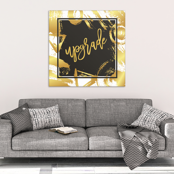 One Word: Upgrade Gallery Wrap Canvas Wall Art