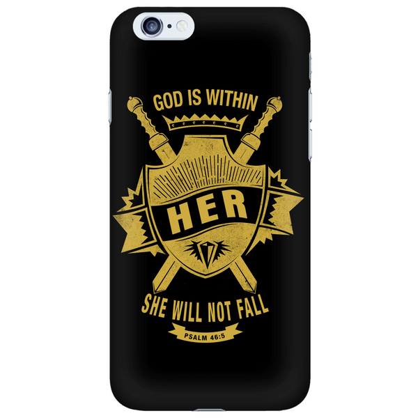God is Within Her Phone Case - Dressed Up Tee Shop  - 6