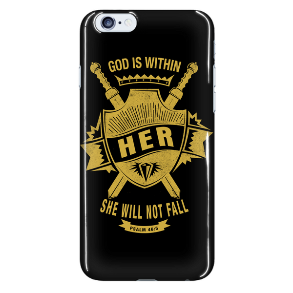 God is Within Her Phone Case - Dressed Up Tee Shop  - 7