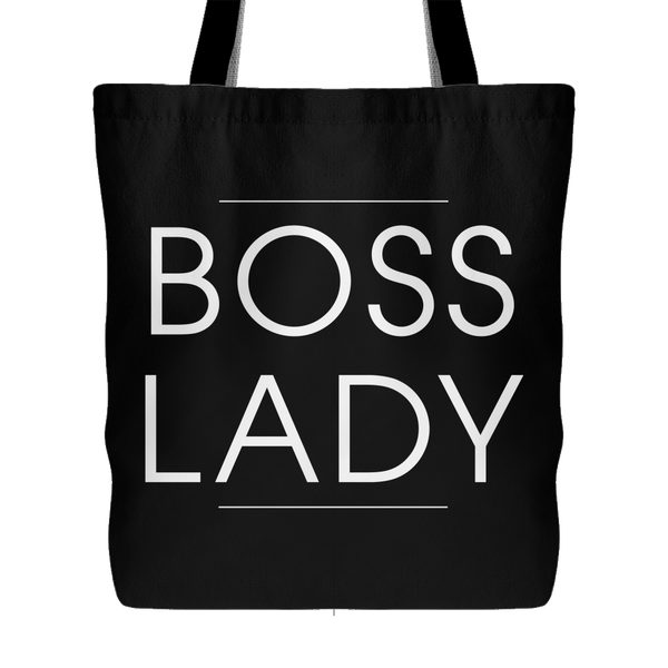 Boss Lady Canvas Tote Bag