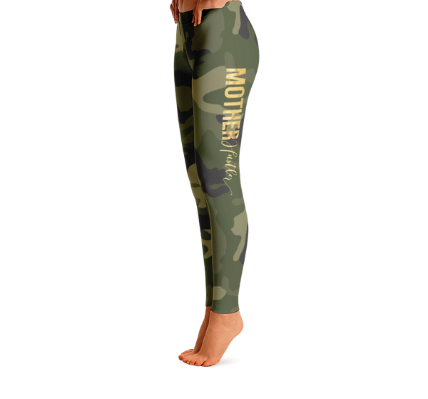 Mother Hustler Camo Leggings