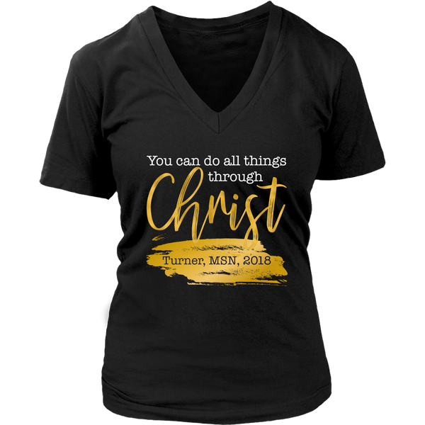 You Can Do All Things Through Christ (Customer Custom Order)
