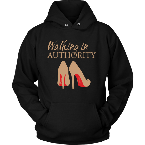 Walking in Authority Hoodie & Long Sleeve - Dressed Up Tee Shop  - 2