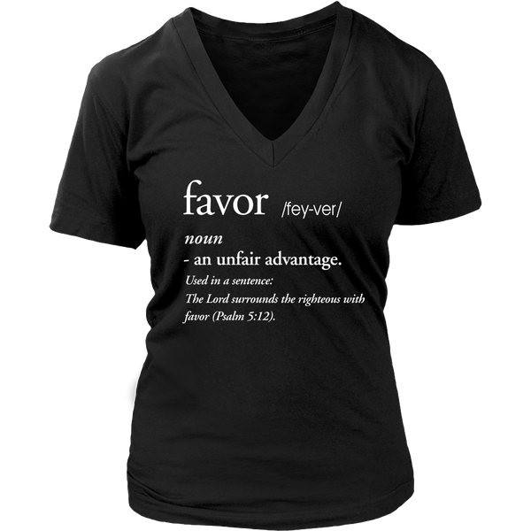 Favor Definition Tee - Dressed Up Tee Shop  - 3